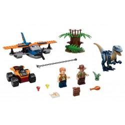 Lego Jurassic World 75942 misiunea de salvare cu biplanul