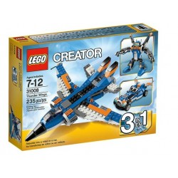 Lego creator 31008 inaripatul fulgerator