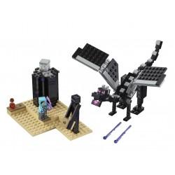 Lego Minecraft 21151Batalia finala