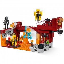 Lego Minecraft 21154 podul flacarilor