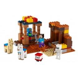 Lego minecraft 21167 tabara negustorului