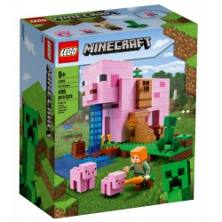Lego minecraft 21170 casuta purcelus