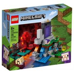 Lego Minecraft 21172 Portalul ruinat