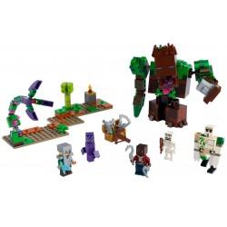 Lego Minecraft 21176 Monstrul din jungla