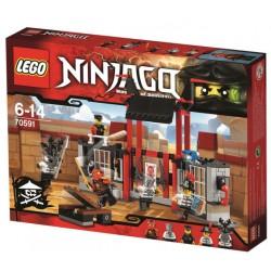 Lego Ninjago 70591 evadarea din inchisoarea Kryptarium