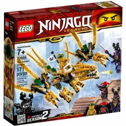 Lego Ninjago 70666 Dragonul de aur