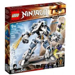 Lego ninjago 71738 robotul de titan a lui Zane