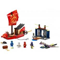 Lego Ninjago 71749 Ultimul zbor al navei Destiny Bounty