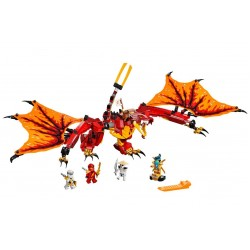 Lego Ninjago 71753 Atacul Dragonului de Foc