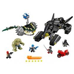 Lego 76055 Super Heroes Batman lovitura din canal Killer Croc
