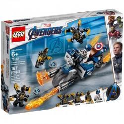 Lego Super Heroes Capitanul America 76123 Atacul outriderilor