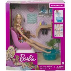 Barbie la salonul de manichiura Mattel GHN07
