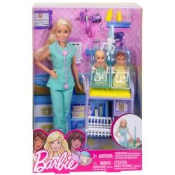 Papusa Barbie doctor pediatru Mattel DHB63-DVG10