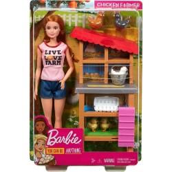 Papusa Barbie set fermier Mattel DHB63-FXP15