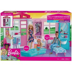 Casuta pentru papusi Barbie Mattel FXG54