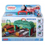 Thomas set de joaca gara Knapford Mattel GHK74