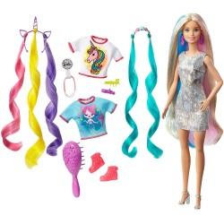 Papusa Barbie Fantasy Hair Mattel GHN04-GHN03
