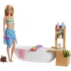 Papusa Barbie baie relaxanta Mattel GJN32