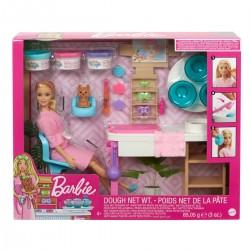 Papusa Barbie o zi la salonul SPA Mattel GJR84