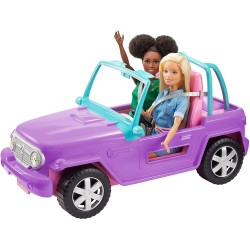 Masina lui Barbie Jeep Mattel GMT46