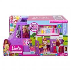 Set Barbie rulota cu mancare Mattel GMW07