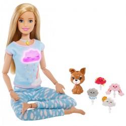 Papusa Barbie exercitii de meditatie Mattel GNK01