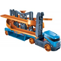Camion transportor cu lift in spirala Hot Wheels Mattel GNM62