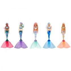 Papusa Barbie color reveal Mattel GTP43
