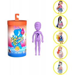 Papusa Barbie color reveal Mattel GTP52
