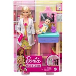 Papusa Barbie set doctor pediatru Mattel DHB63-GTN51