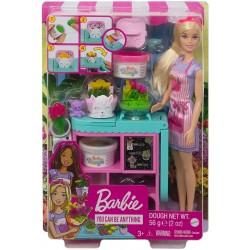 Papusa Barbie Cariere florarie Mattel GTN58