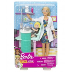 Papusa Barbie set dentist Mattel DHB63-FXP16