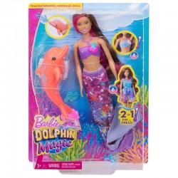 Barbie sirena cu delfin Fbd64