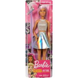 Papusa Barbie cariere vedeta pop Mattel FXN98