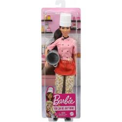 Papusa Barbie bucatar sef Mattel GTW38