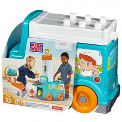 Bucatarie pe roti Mega Blocks Fisher-price DPJ55