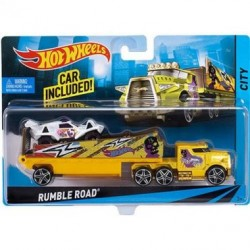 Set camion si masina Hot Wheels