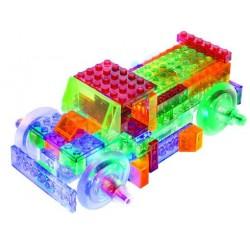 Laser pegs kit constructie cu lumini 8in1 camion