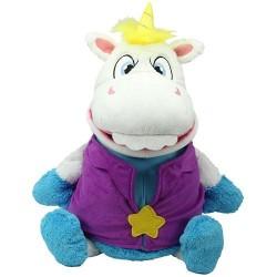 Tummy stuffers mascota unicorn alb