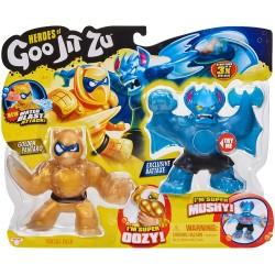 Goo Jit Zu seria 2 set 2 figurine Pantaro vs Battaxe 41052