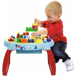 Masa Ecoiffier de joaca cu 23 cuburi 7763