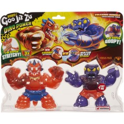 Goo Jit Zu set 2 figurine sezonul 3 Dino Power Blazagon vs Redback Volcanic Rumble 41105-41111