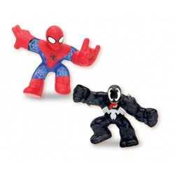 Goo Jit Zu set 2 figurine Spiderman si Venom 41146