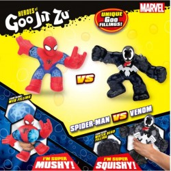 Goo Jit Zu set 2 figurine Spiderman si Venom 41146
