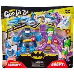 Goo Jit Zu set 2 figurine Batman vs Joker 41184