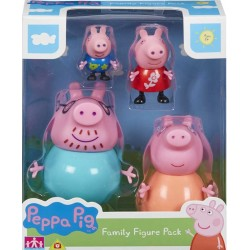 Peppa Pig set figurine family pack 5758
