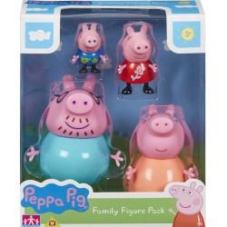 Peppa Pig set figurine family pack 5758