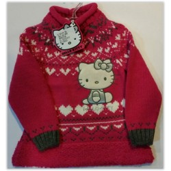 Rochita tricotata Hello Kitty 8509