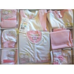 Set aziz 10 piese 0-3 luni fetita