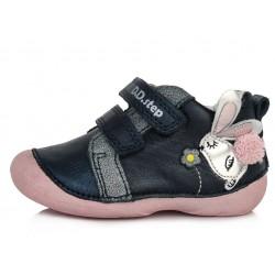 Pantofi fete din piele ddstep 015-511B